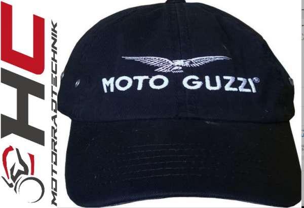 Moto Guzzi Base Cap schwarz
