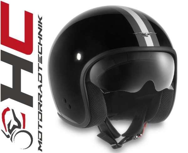 "Moto Guzzi Jet Helm ""Stripes"""
