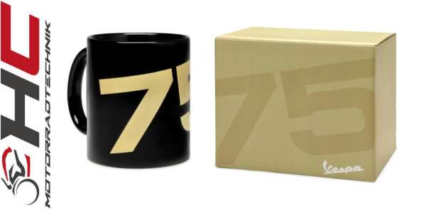 Vespa Keramiktasse 75 Jahre Vespa
