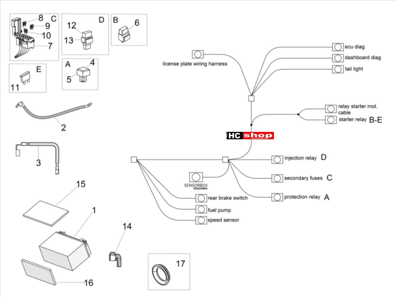 Fine Aprilia Tuono V4 1100 Factory E4 Abs Elektrische Anlage Ii Tuono Wiring 101 Louspimsautoservicenl