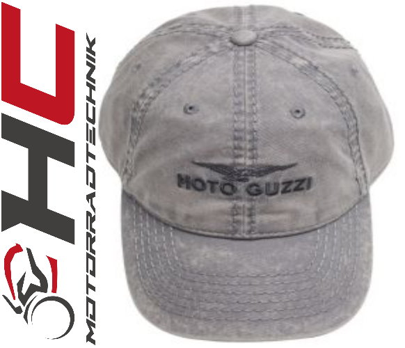 moto guzzi base cap grau baseball caps moto guzzi. Black Bedroom Furniture Sets. Home Design Ideas