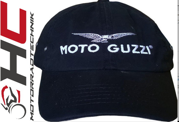 moto guzzi base cap schwarz moto guzzi bekleidung hc. Black Bedroom Furniture Sets. Home Design Ideas