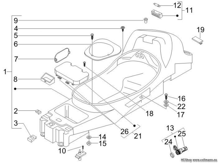 piaggio schutzhelmgeh use untersitz x8 125 x8 125 x8. Black Bedroom Furniture Sets. Home Design Ideas