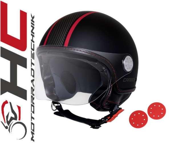 Moto Guzzi Jet-Helm Carbonlook