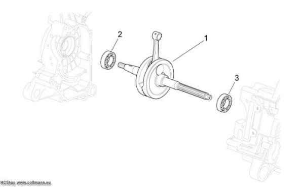 Aprilia Abtriebswelle Scarabeo 50 4T NET