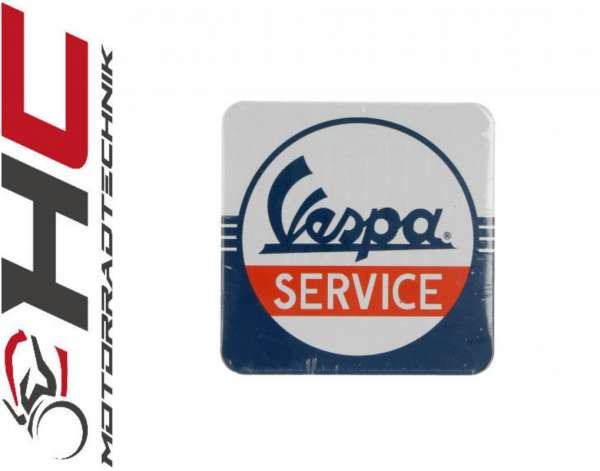 """Vespa Untersetzer """"Vespa Service"""""""